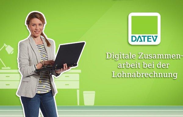digitale Zusammenarbeit bei der Lohnabrechnung