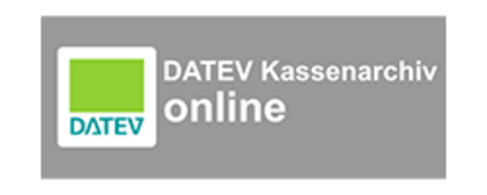 DATEV Kassenarchiv online